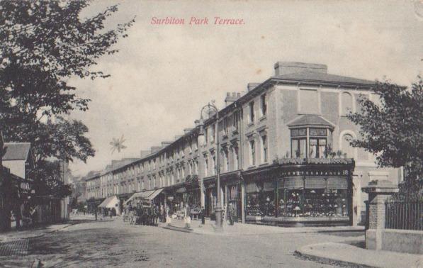 Surbiton Park Terrace, 1906