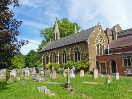 St Andrew's Church & graveyard