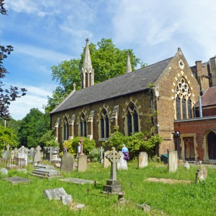 St Andrew's Church & graveyard