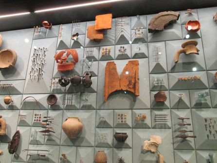 Roman artefacts found during excavations