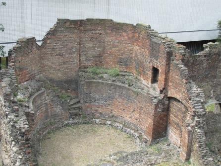 Roman fort near Museum of London
