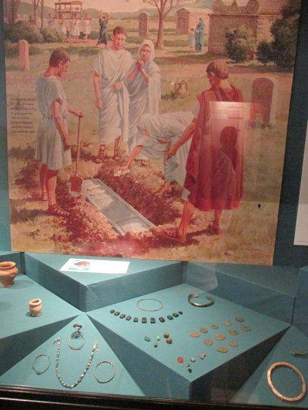 Roman burial & jewellery