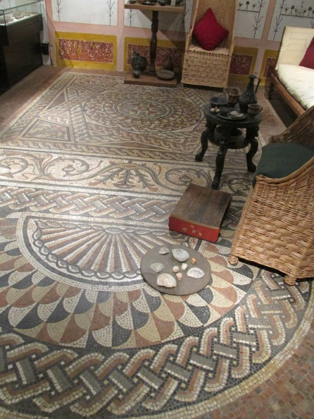 Mosaic in Museum of London