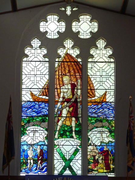 St Andrew's Church, stained glass window