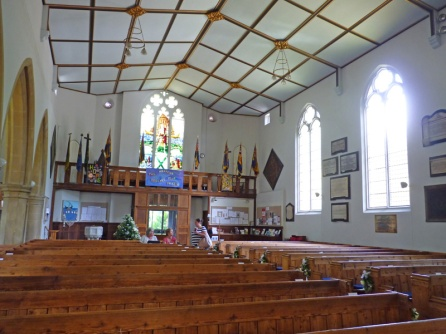 Interior view of St Andrew's
