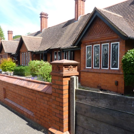 Tollemache Almshouses in Ham Street