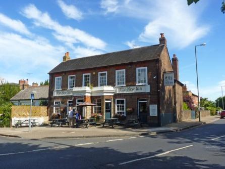 The New Inn Pub, on corner of Ham Common