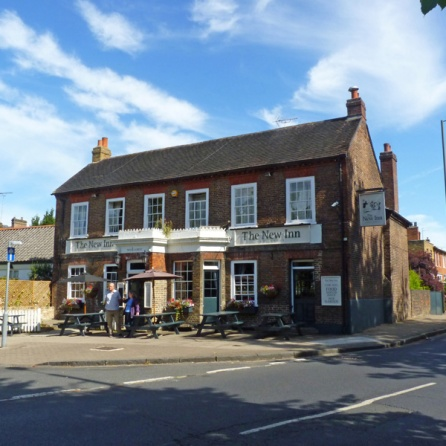 The New Inn Pub, on corner of Ham Common